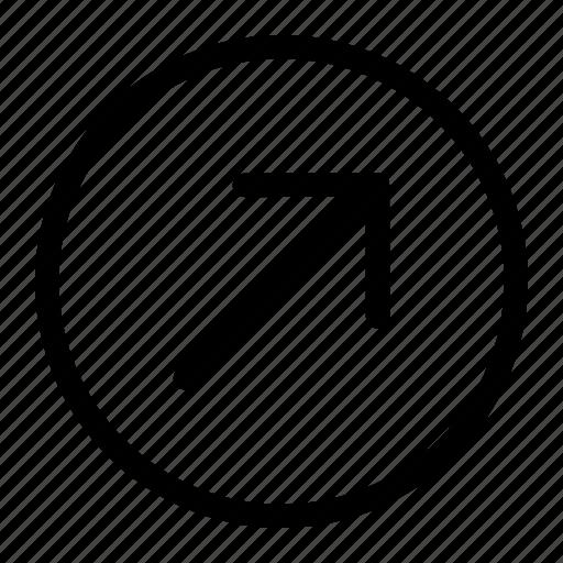 arrow, right icon, top icon, up icon