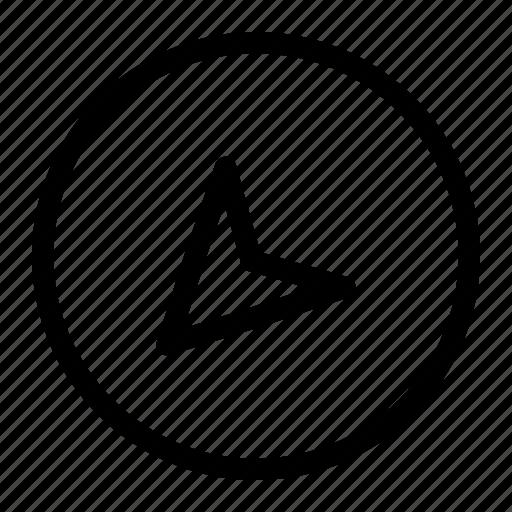 app, arrow, bottom, down icon, interface icon