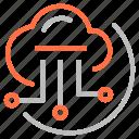 cloud, drive, file, marketing, seo icon