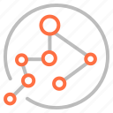 marketing, networks, seo, web icon