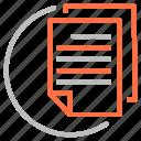 document, file, report, seo icon