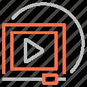 marketing, seo, video, youtube icon