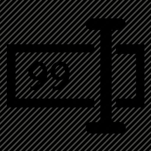 form, formbuilder, input, numeric icon