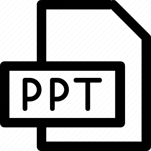 Extension, file, format, ppt, program icon - Download on Iconfinder