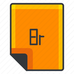 br, document, extension, file, format, software icon