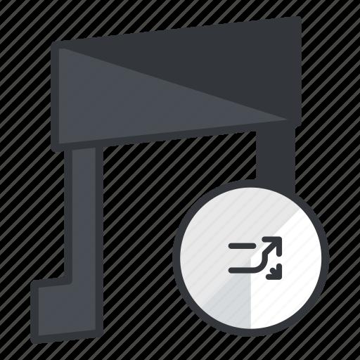 audio, media, multimedia, music, shuffle, sound icon