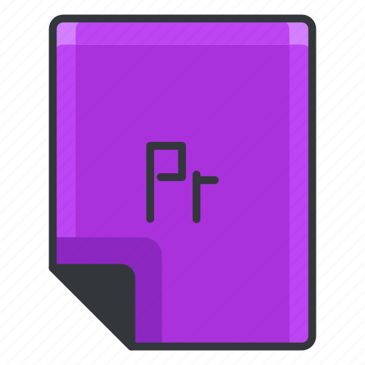 document, extension, file, format, paper, pr icon