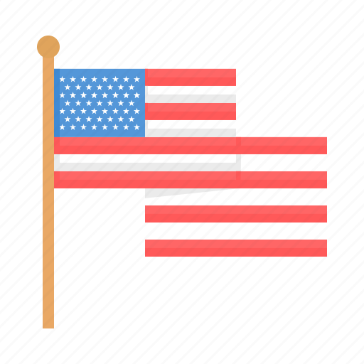 America, flag, united states, usa icon - Download on Iconfinder