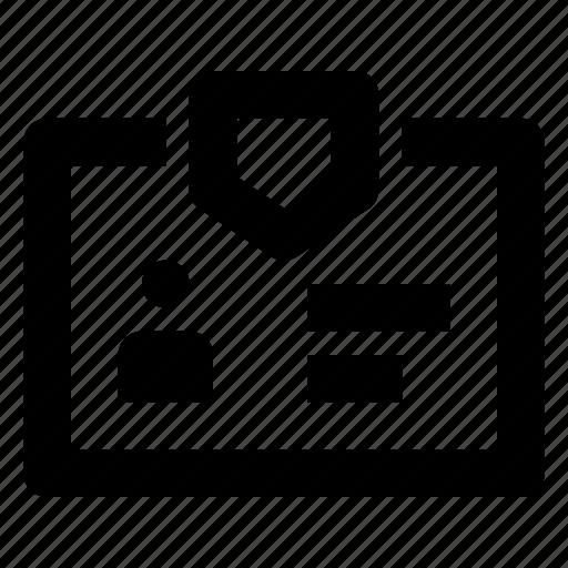 basic, business, card, identity, mix, office icon
