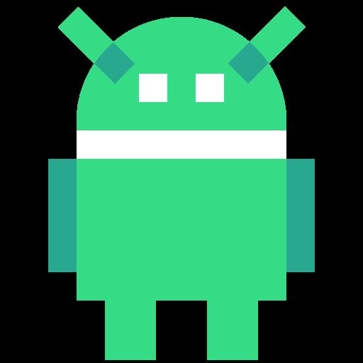 android, logo, robot icon