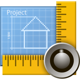 blueprint, design, draft, engineer, plan, project, projection, scheme icon
