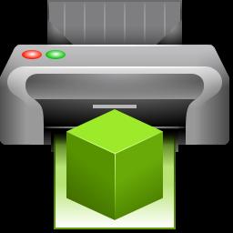 3d, printer, replicator icon