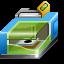 3d, impress, imprint, list, machine, press, print, printer, printing, run, seal, stamp, type icon
