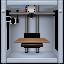 3d, impress, imprint, list, machine, makerbot, press, print, printing, run, seal, stamp, type icon