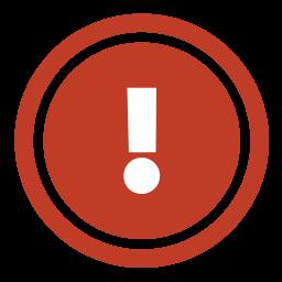 refuse, stop icon