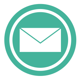 adresse, e-mail, envelope, inbox, letter, mail, message, network, news, notification, post, read, rss, send, sending, subscribe icon