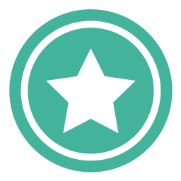 bookmark, favorite, star, top, vote icon