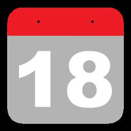calendar, eight, eighteen, event, hovytech, one, schedule icon