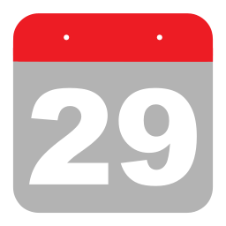 calendar, event, hovytech, nine, schedule, twenty-nine, two icon