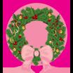 christmas, wreath