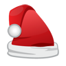 cap, christmas, santa icon