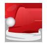 cap, christmas, santa