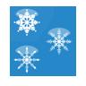 christmas, flakes, snow