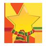 christmas, star