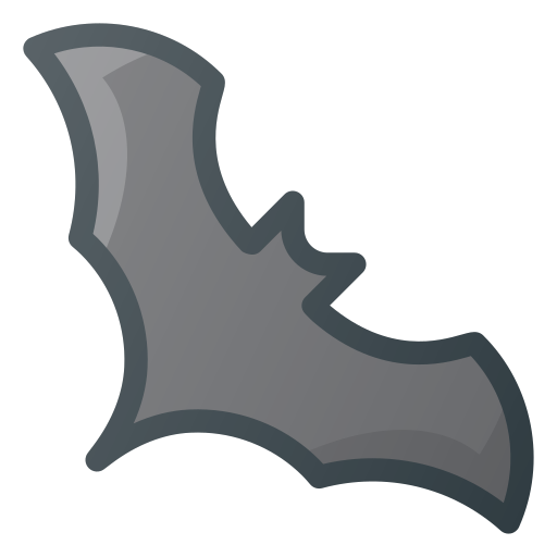 bat, halloween, vampire icon