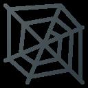 cobweb, spider, spider web, web icon