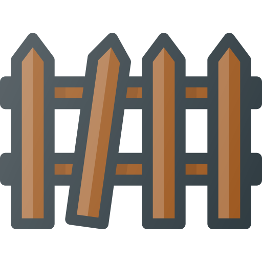 Broken, fence icon - Free download on Iconfinder