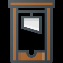 cut, guillotine, head icon