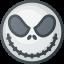 cartoon, haloween, jack, movie, skellington icon