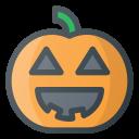 halloween, lamp, pumpkin