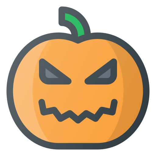 Lamp, halloween, pumpkin icon
