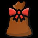 bag, christmas, gift, present, santa icon