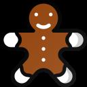 christmas, cake, sweet, gingerbread, cookie