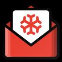 christmas, gift, letter, santa icon