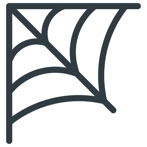 cobweb, halloween, spider web icon