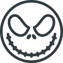 halloween, jack, skellington icon