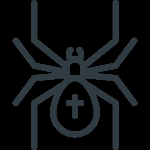 halloween, spider icon