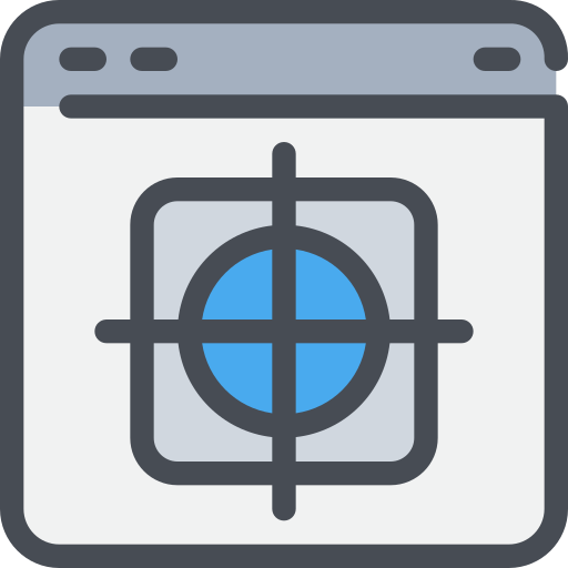 browser, management, page, target, website icon