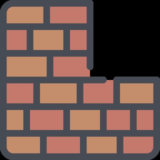 area, build, building, wall icon