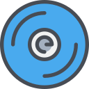 device, sound, cd, music, song icon