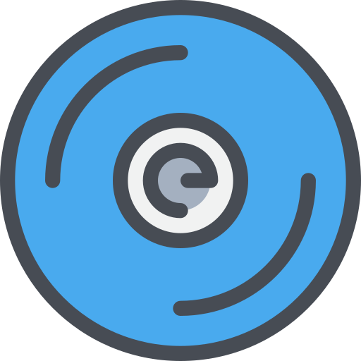 cd, device, music, song, sound icon