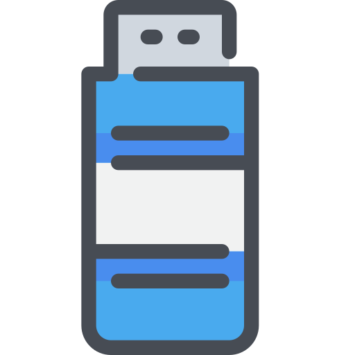 computer, device, office, usb icon
