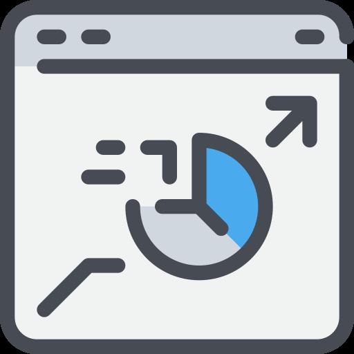 analysis, browser, data, seo, website icon