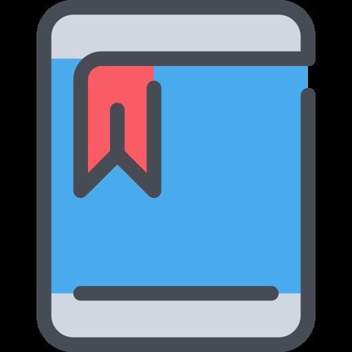 bookmark, device, mobile, seo, smartphone icon