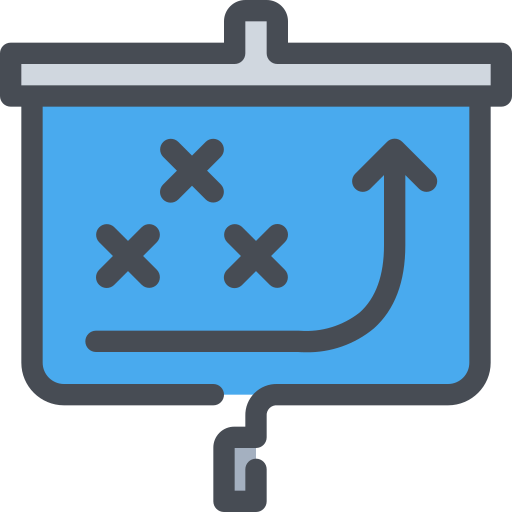 business, present, presentation, report, strategy icon
