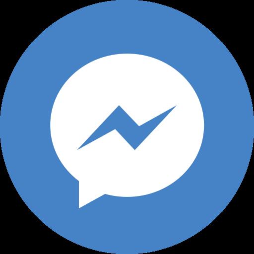 media, messenger, social icon